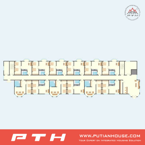 Halal Style Prefab Office Building with Customized Size pictures & photos