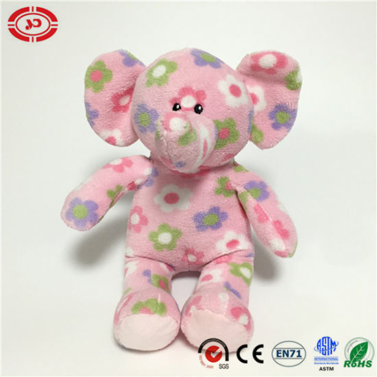 Plush Fancy Baby Gift Sitting Soft Stuffed Elephant Toy pictures & photos
