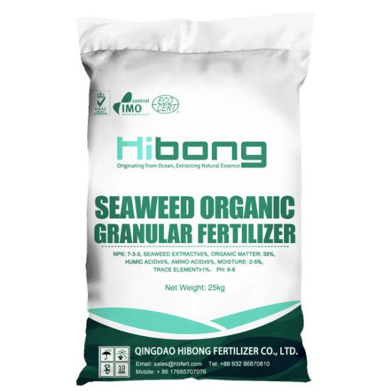 Seahibong Seaweed Organic Fertilizer, Seaweed Granular Fertilizer