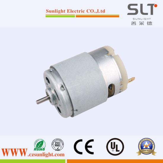 12V Brush Mini Electric Brushing DC Motor for Office Equipment