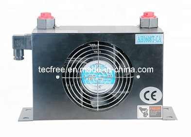 Ah0608t-Ca Machine Aluminum Air to Water Heat Exchanger with Fan pictures & photos