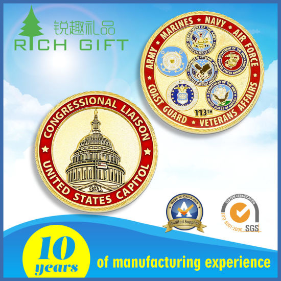 Wholesale Mass High Quality Fine Cheap Challenge Coins pictures & photos