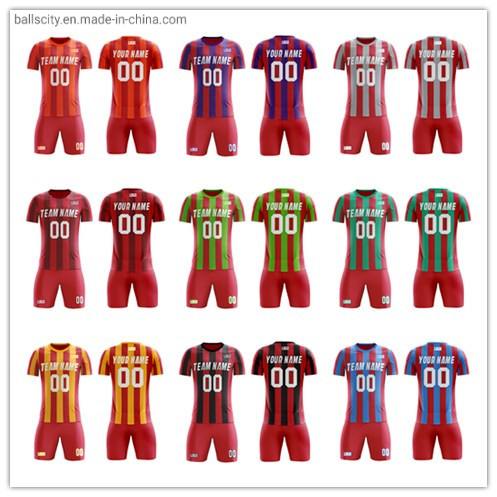 Wholesale Custom Sportswear Sublimation Soccer Jersey New Design Football Shirts