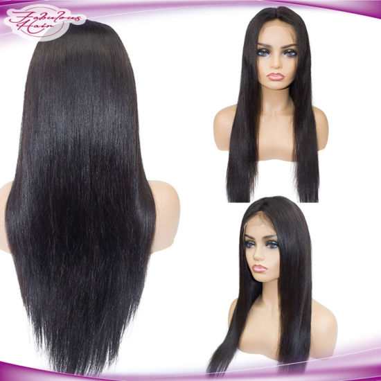 Top Quality Lace Front Human Hair Wig Brazilian Hair Lace Wig pictures & photos