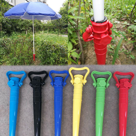 Sun Beach Fishing Stand Rain Gear Ground Anchor Spike Umbrella Stretch Stand Holder pictures & photos