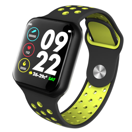 F8 Sport Smart Watch IP67 Waterproof 15 Days Long Standby Heart Rate Blood Pressure Smartwatch Support Ios Android Pk S226 Watch