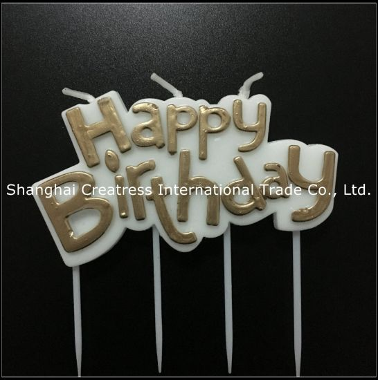Surprising China Excellent Design Paraffin Wax Party Use Pink Letter Candles Personalised Birthday Cards Veneteletsinfo