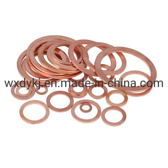 DIN125 Brass Bronze Copper Plain Flat Washer