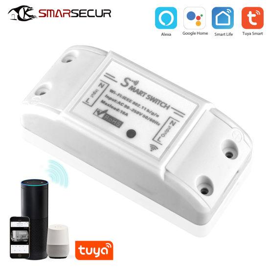 Wireless Smart Home Switch WiFi Controlled Light Switch WiFi Remote Power Switch