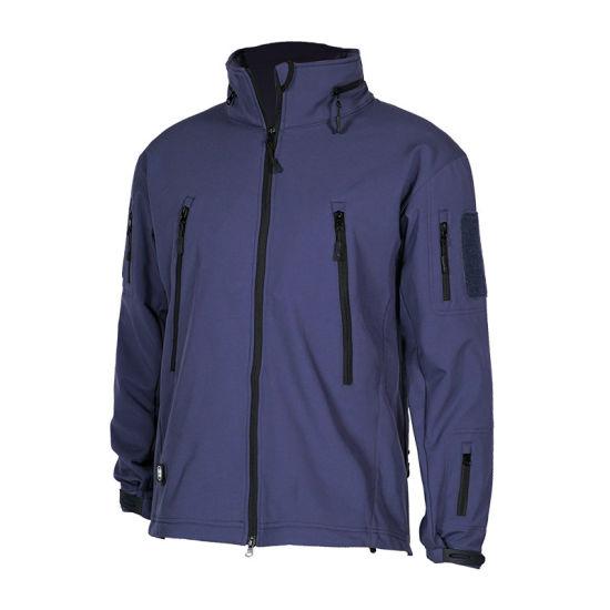 Military Jaket Tactical Fleece Coat Hooded Jacket Waterproof