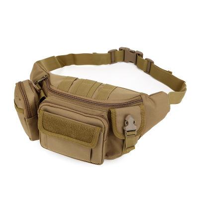 Fanny Pack Waist Bag Military Tactical Camping Hiking Trekking Bike Large Black