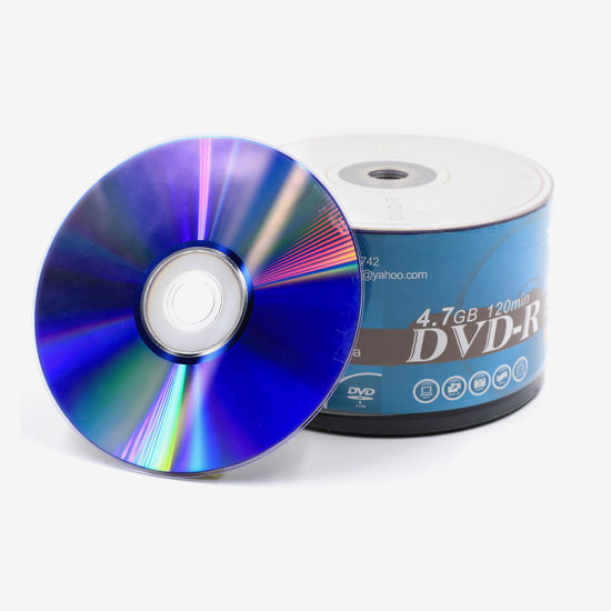 1-16X/4.7GB/120min Disk Capacity Recordable Compact Disc DVD R
