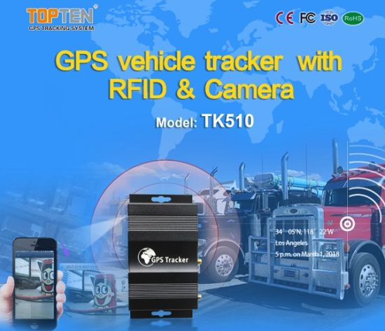 Car Truck GPS Tracking System with Fuel Loss Alarm Tk510-Ez