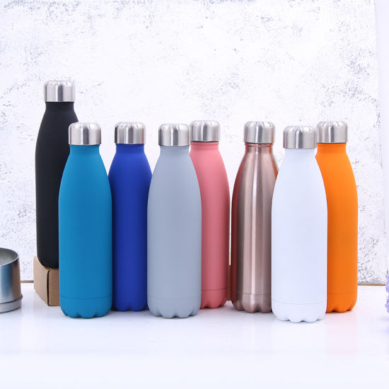 BPA Free Drinking Water Bottle 500ml Travel Coffee Mug Insulated Bottle