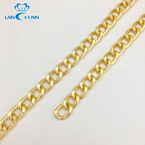 Metal Chains for Leather Bag Accessory
