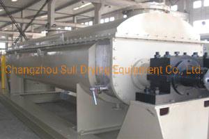 Kjg Series Sludge Drying System Hollow Blade Sludge Paddle Liquid Paste Blade Dryer Machine