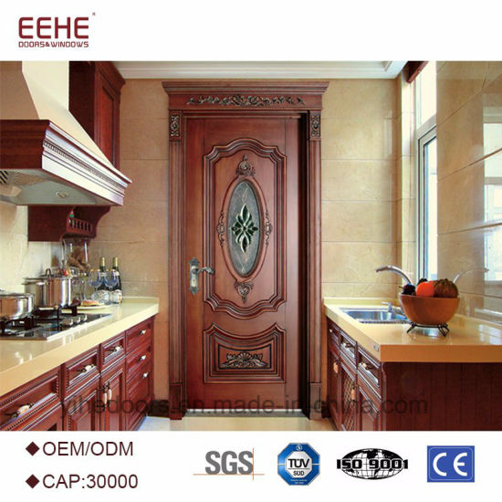 China Balcony Wooden Door Design Models With Glass China Latest