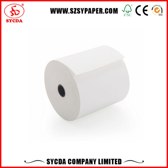 Europea Standard High Quality Thermal Cashier Paper Roll for Super Market