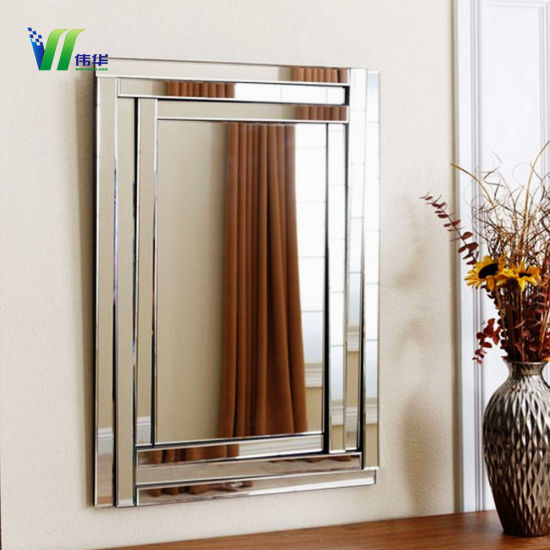 Two Way And One Mirror Gl Sheet With Frame