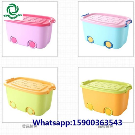 Collapsible Clothes Organizer Foldable Toy Box with Lid pictures & photos