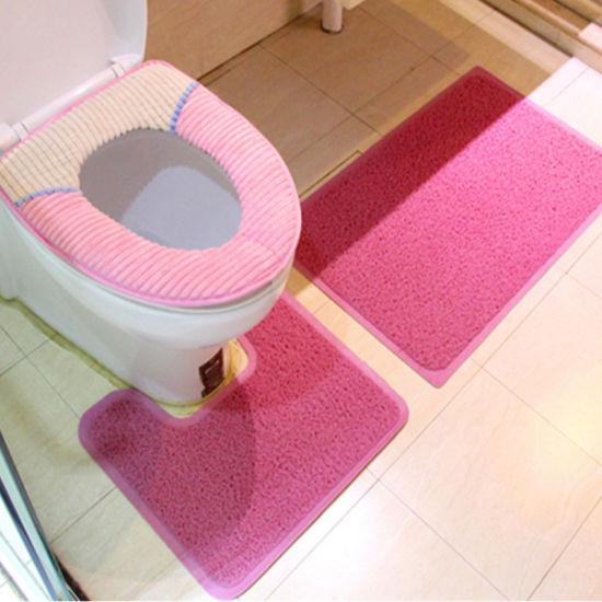 Toilet Rugs for Bathroom U Shaped Washable