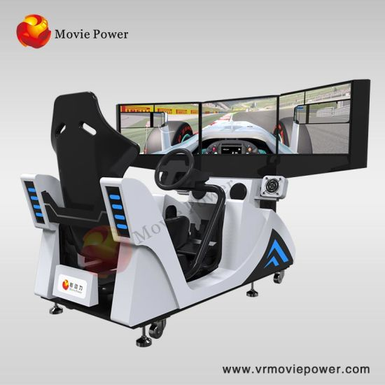 Wholesale 3 Screens Racing Machine Simulator Arcade Games Car Game pictures & photos