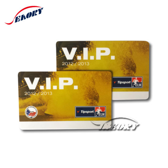 Four Color Printing Plastic Transparent Card/ Membership Card pictures & photos