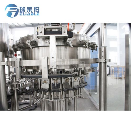 Pet Bottle Carbonated Juice Filling Sealing Machine pictures & photos