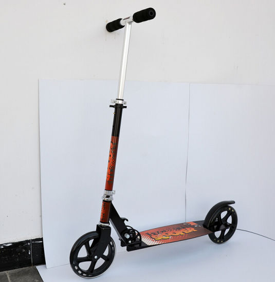 2pcs Wheels Foldable Foot Pedal Scooter Pictures Photos