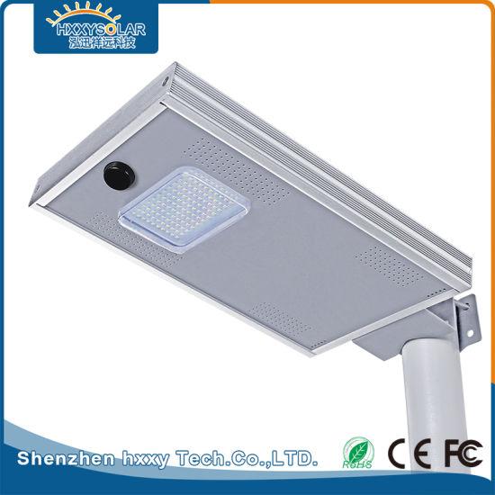 12W Aluminum Alloy Solar LED Street Light for Park