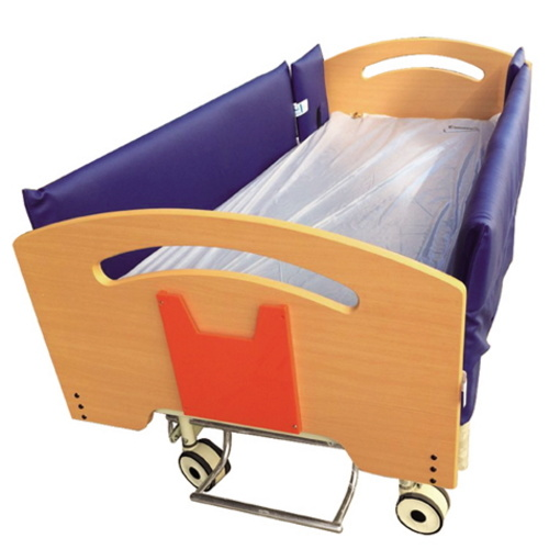 BS-833A Home Care Bed with 3 Functions Electric Hospital Bed with Central Locking Castors