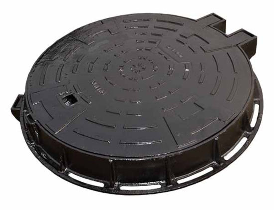 En124 D400 Cast Iron Round Manhole Cover pictures & photos