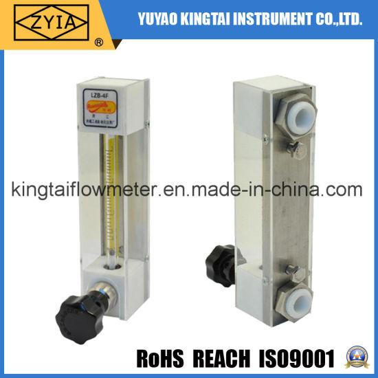 Glass Tube Chemical Resistant Flowmeter