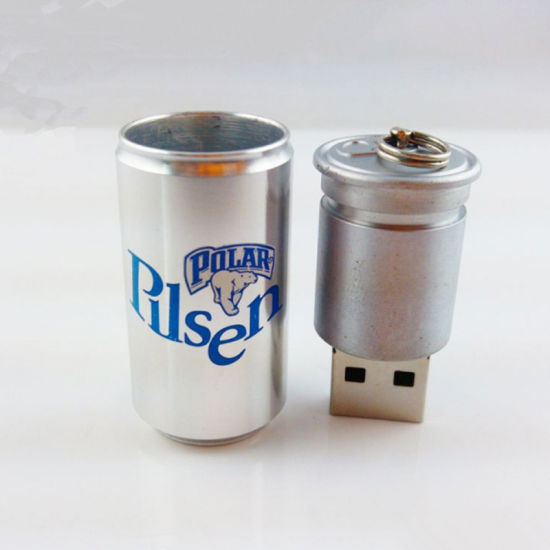 USB 16GB Metal Key USB Flash Driver for Cola Cans Shape pictures & photos