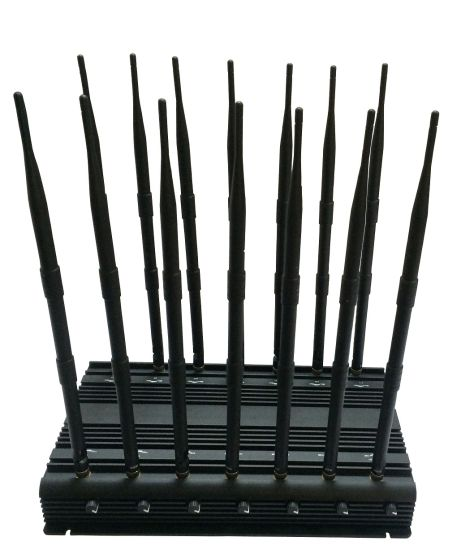 35W High Power Cell Phone Jammer for 4G Lte with Directional Antenna, 14 Antenna Jammer; Jamming for Lojack, 433, 315, GPS, Cellular Jammer System pictures & photos
