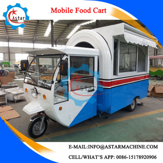 Manufacture Popular Selling Fast Food Vending Cart pictures & photos