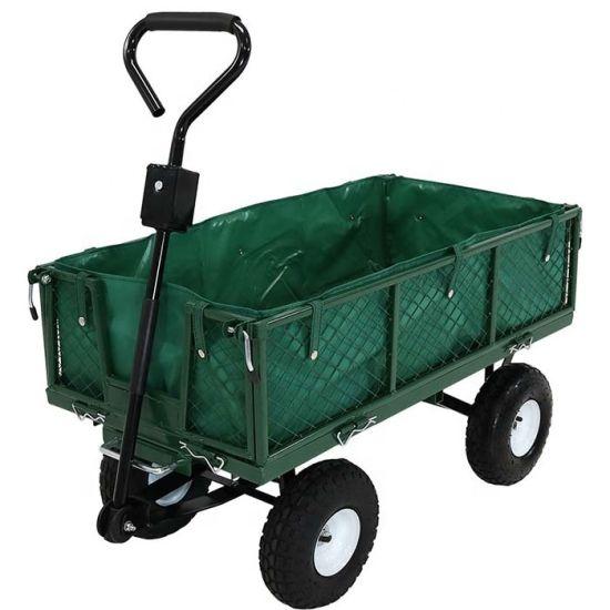 Good Quality Utility Beach Camping Hand Trolley Folding Hopping Garden Cart