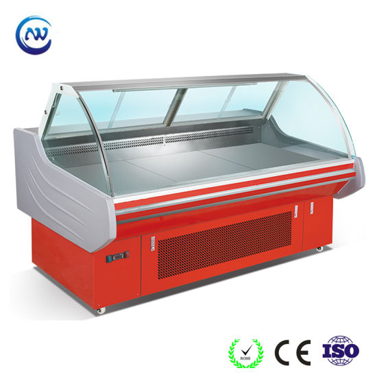 Chest Cooler Cooked Food Display Counter Commercial Meat Freezer SG 15F