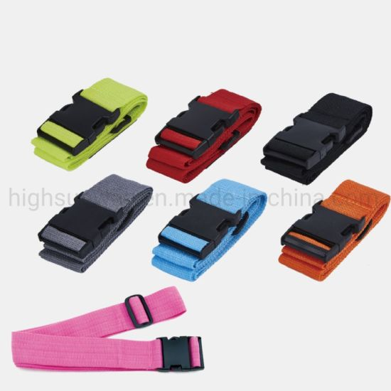 Suitcase Belt with Customer Logo, Luggage Strap, Suitcase Strap, Luggage Belt, Trolley Case Belt, Polyester Belt, Promotional Gift Belt