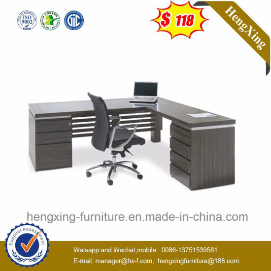 Wholesale Side Cabinets Light Grey Color Executive Desk (NS-ND061) pictures & photos