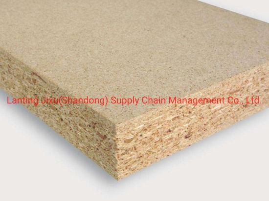 Melamine Raw Chipbaord Board / Plain Particle Board Sheets/ Chipboard Board Price