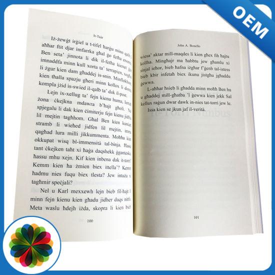 Professional Printing Service English Novel Book Print China Paperback Book Printing Ficiton Book Printing Made In China Com