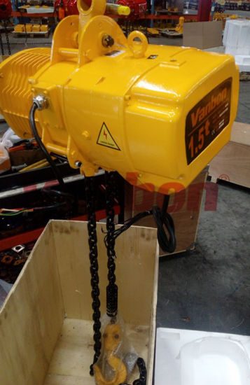 1.5ton with Electric Monorail Trolley Type Crane Hoist pictures & photos