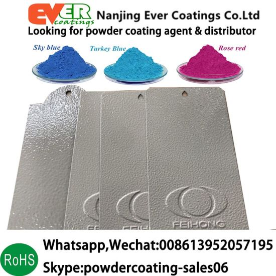 China Electrostatic Paint Grey Color Smooth Texture Ral7035 Powder