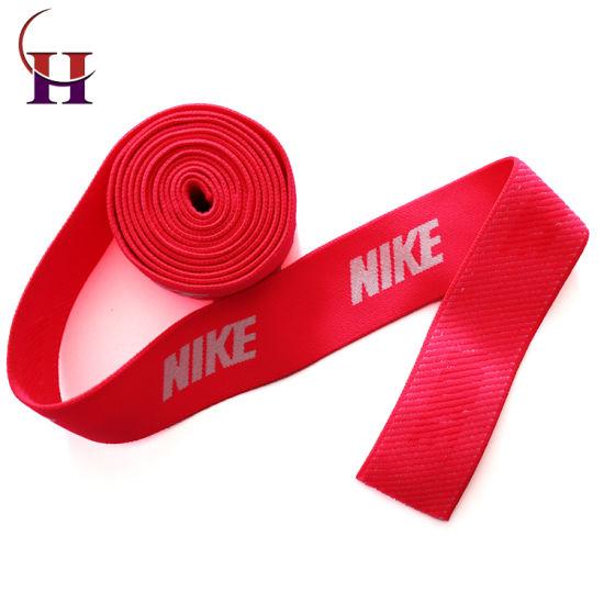 Bright Pink Printing Webbing for Sports Garment
