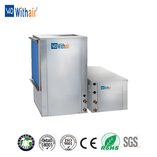 Vertical Type Commercial Air Conditioner Water Source Heat Pump