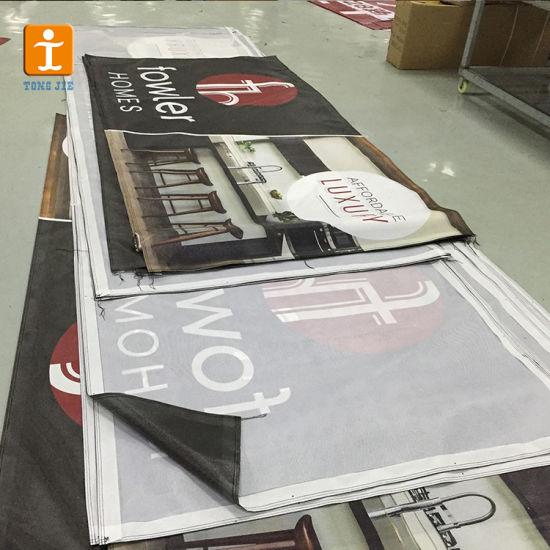 Hanging PVC Mesh Fence Vinyl Promotional Banner