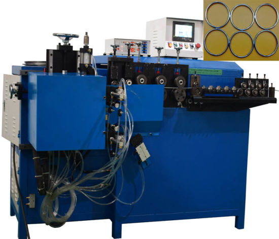 Dust Frameword Automatic Metal Wire Ring Butt Welding Making Machine