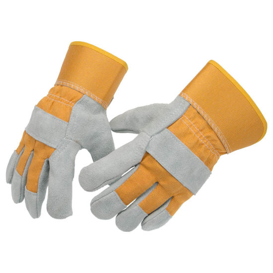 Factory Directly Selling Leather Welding Glove Working Glove on Sale