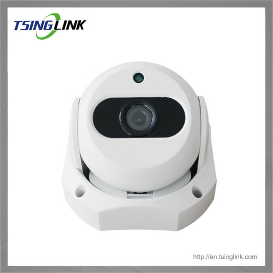 Real Time Audio Video Recording Wire Transmission IP Dome Camera pictures & photos